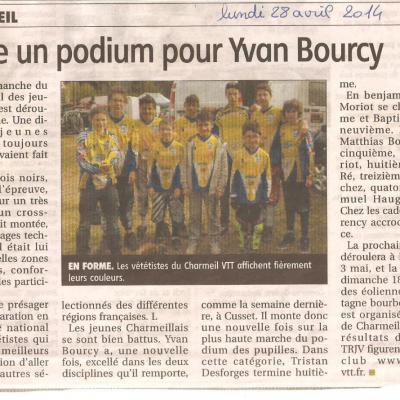 2eme TRJV 2014: LES BOIS NOIRS (chabreloche)