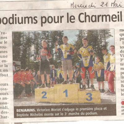 4eme TRJV 2014 : CHARMEIL VTT (LAprugne)