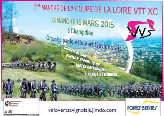 championnat de la Loire de VTT 2015